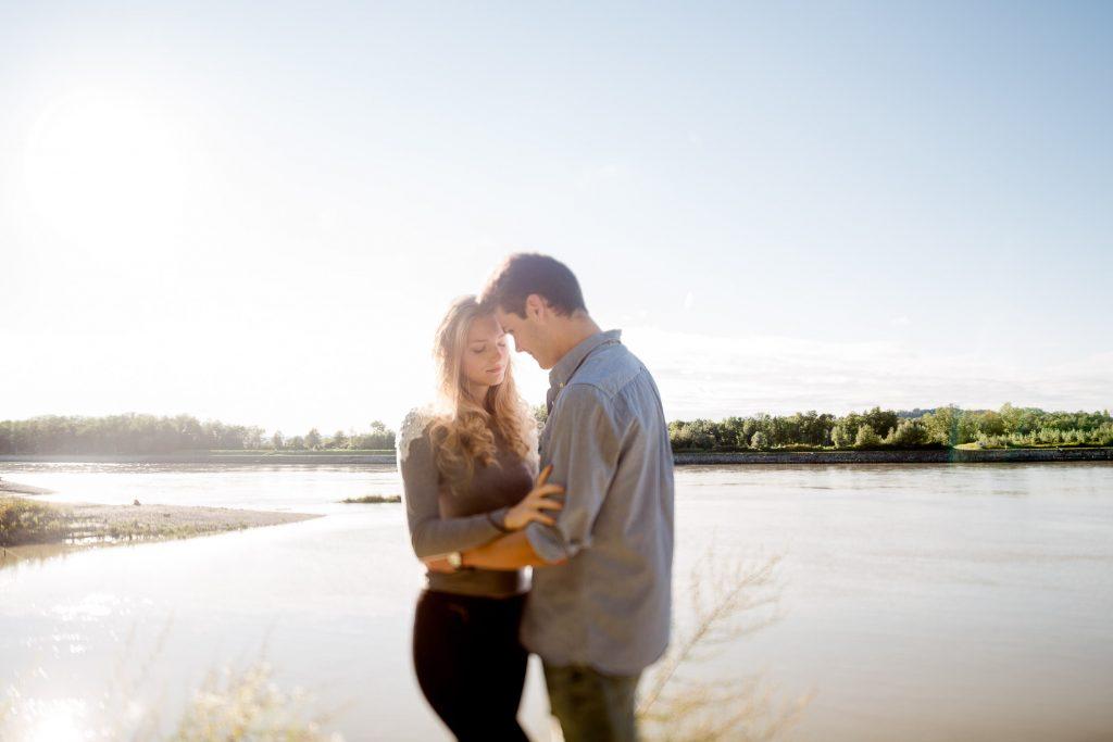 Anna & Florian couple Shoot an der Donau bei Wilhering