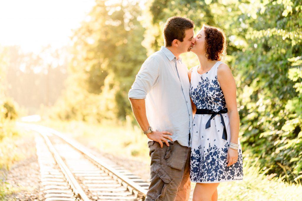 Romy & Markus couple Shoot in Steyr bei Sonnenuntergang